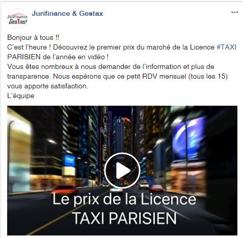 Annonce fb prix licence janv 2018