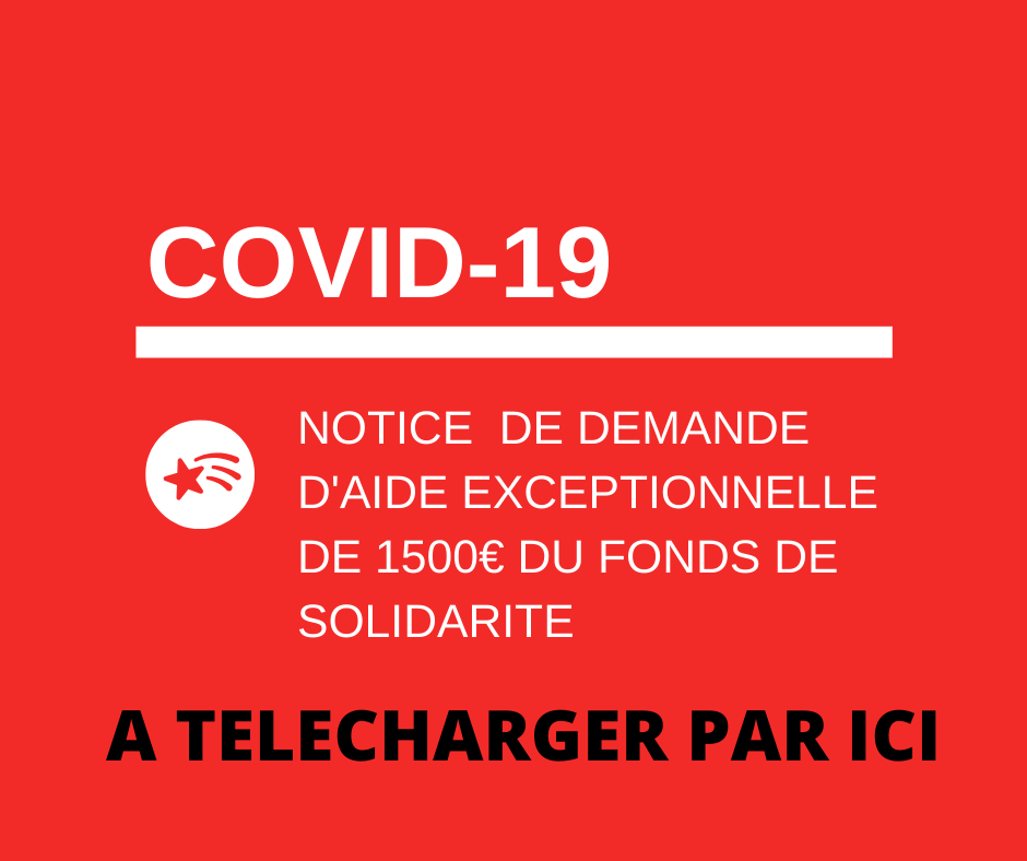 Notice fonds de solidarite covid 19