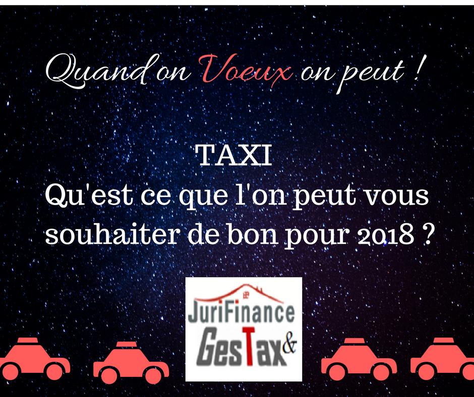 Voeux taxi pour 2018